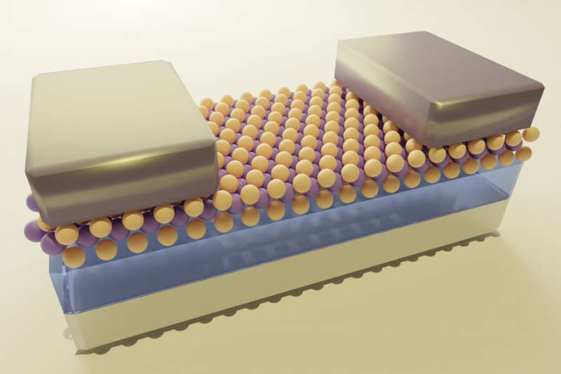 Advance may enable 2D transistors for tinier microchip components
